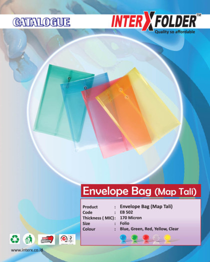 Map Tali (Envelope Bag)