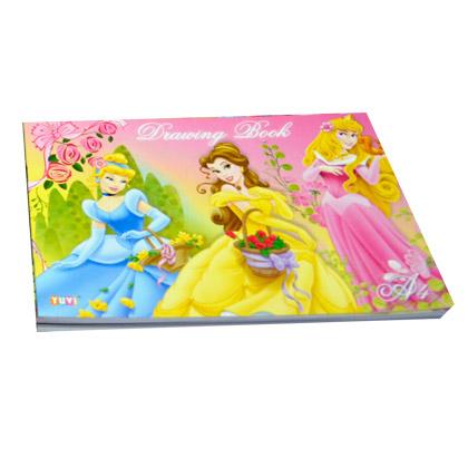 princess drawing book a4 1 box